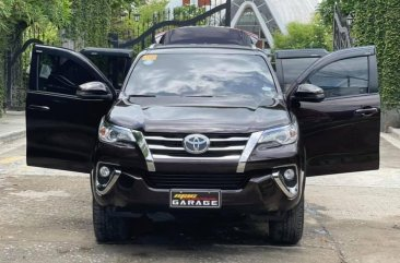 Sell Brown 2019 Toyota Fortuner in Quezon City