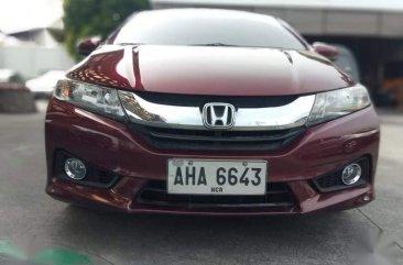 Sell Red 2015 Honda City