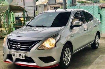 Silver Nissan Almera 2017 for sale in Manual