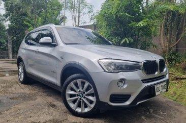 Silver BMW X3 2015 for sale in Malabon
