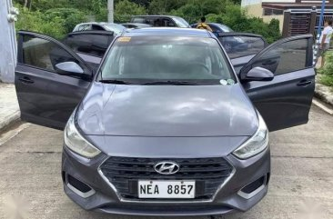 Grey Hyundai Accent 2019 for sale in Automatic