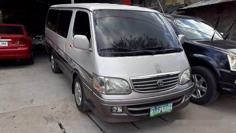 Used Toyota Hiace 2004 for sale in the Philippines