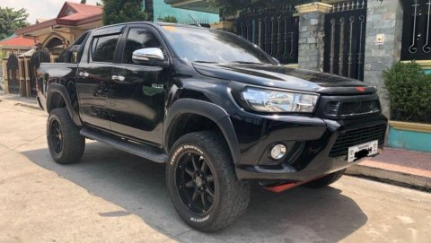 Used Toyota Hilux 2018 for sale in the Philippines